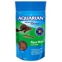 Aquarian Algae Wafer 510g for Catfish plecostomus & Tropical Fish (2 x 255g)